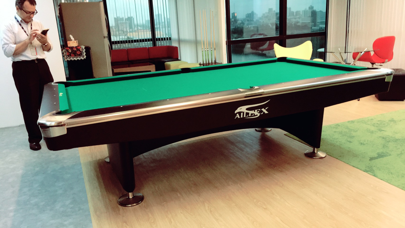 Our Customer BDO Advisory Limited Brand New Aileex Crown 6 (9ft) Pool Table  Order. Thank You For Choosing Thailand Billiard. Best Value In Pool Table.